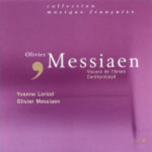 Foto Cover di Visions de l'Amen - Canteyodjaya, CD di Olivier Messiaen, prodotto da Accord