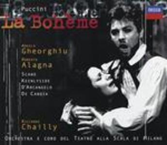 La Bohème - CD Audio di Giacomo Puccini,Angela Gheorghiu,Roberto Alagna,Simon Keenlyside,Riccardo Chailly,Orchestra del Teatro alla Scala di Milano