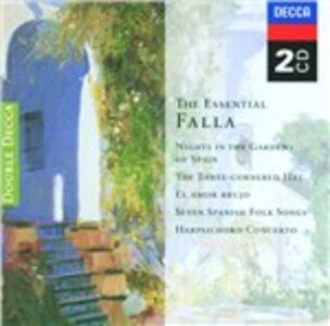 Foto Cover di The Essential Falla, CD di Manuel De Falla, prodotto da Decca Double