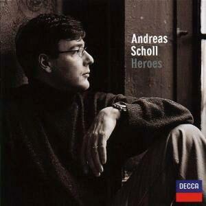 CD Heroes Christoph Willibald Gluck , Wolfgang Amadeus Mozart , Georg Friedrich Händel