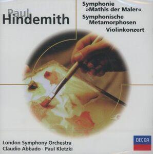 CD Mathis der Maler - Metamorfosi sinfoniche - Concerto per violino di Paul Hindemith