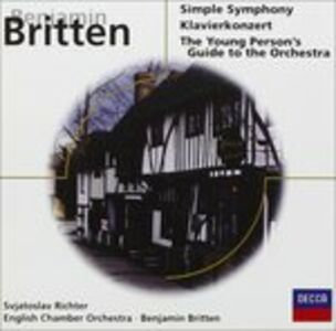 CD Simple Symphony di Benjamin Britten