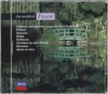 CD The World of Fauré di Gabriel Fauré