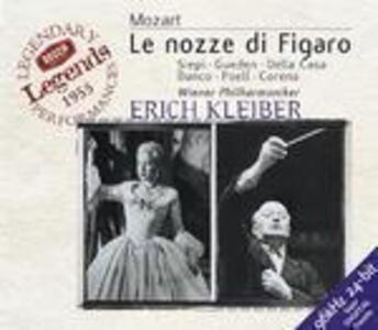 Le nozze di Figaro - CD Audio di Wolfgang Amadeus Mozart,Erich Kleiber,Lisa Della Casa,Cesare Siepi,Hilde Güden,Wiener Philharmoniker