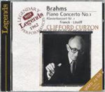 CD Concerto per pianoforte n.1 / Variazioni sinfoniche / Scherzo Johannes Brahms , César Franck , Henry Charles Litolff