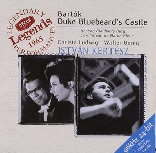 Il castello di Barbablu - CD Audio di Christa Ludwig,Walter Berry,Bela Bartok,Istvan Kertesz,London Symphony Orchestra