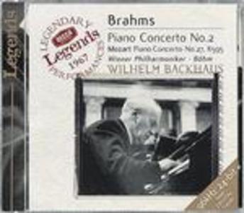 CD Concerto per pianoforte n.2 / Concerto per pianoforte n.27 Johannes Brahms , Wolfgang Amadeus Mozart