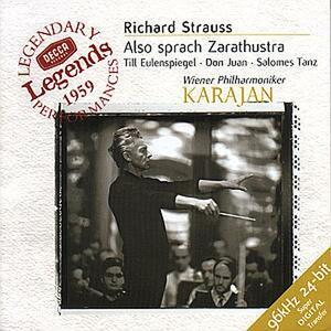 Così parlò Zarathustra (Also Sprach Zarathustra) - Till Eulenspiegels Lustige Streiche - Don Juan - Danza di Salomé - CD Audio di Richard Strauss,Herbert Von Karajan,Wiener Philharmoniker