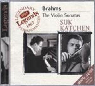 CD Sonate per violino di Johannes Brahms