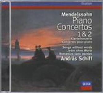 CD Concerti per pianoforte n.1, n.2 di Felix Mendelssohn-Bartholdy