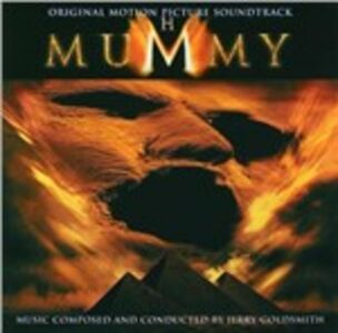 CD La Mummia (The Mummy) (Colonna Sonora) di Jerry Goldsmith