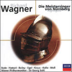 CD I maestri cantori di Norimberga di Richard Wagner