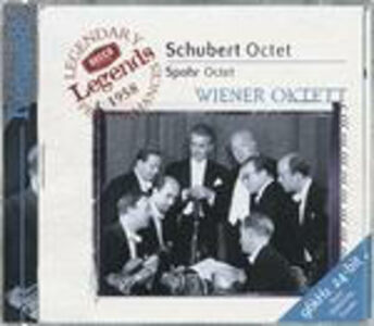 CD Ottetto Franz Schubert , Louis Spohr