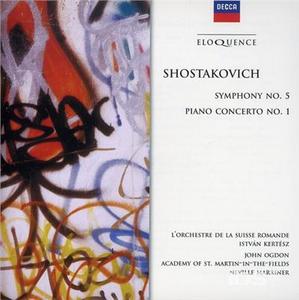 CD Sinfonia n.5 - Piano Conce di Dmitri Shostakovich