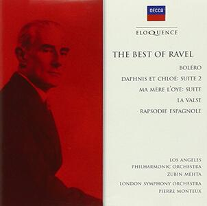 Best of Ravel - Bolero - CD Audio di Maurice Ravel