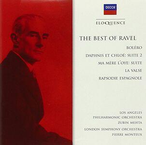 Foto Cover di Best of Ravel - Bolero, CD di Maurice Ravel, prodotto da Eloquence