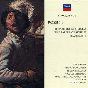CD Barber of Seville di Gioachino Rossini