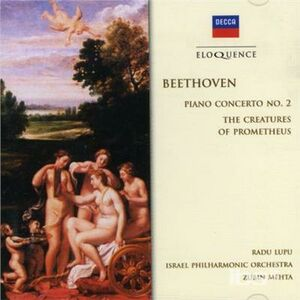 CD Concerto per Pianoforte 2 di Ludwig van Beethoven