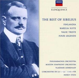 Best of Sibelius - CD Audio di Jean Sibelius