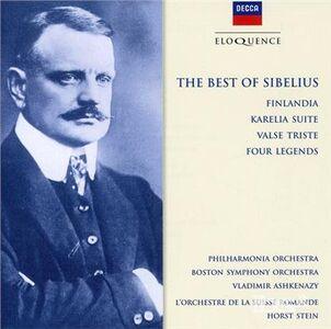 CD Best of Sibelius di Jean Sibelius