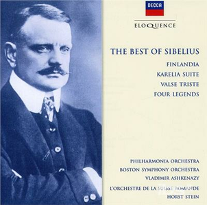 CD Best of Sibelius di Jean Sibelius