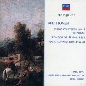 CD Concerto per Pianoforte No. 5 - Rondo di Ludwig van Beethoven