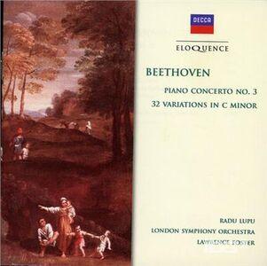 CD Concerto per Pianoforte No. 3 - 32 va di Ludwig van Beethoven
