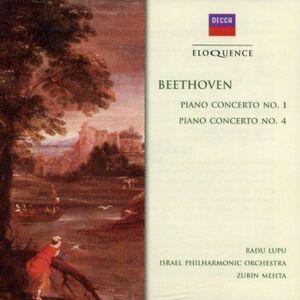CD Concerti per Pianoforte N.1, N.4 di Ludwig van Beethoven