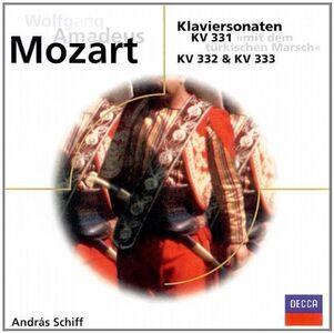 CD Sonate per Pianoforte Kv331 - 333 di Wolfgang Amadeus Mozart