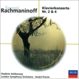 CD Concerti per pianoforte n.2, n.4 di Sergei Vasilevich Rachmaninov