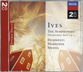 CD Sinfonie n.1, n.2, n.3, n.4 di Charles Ives