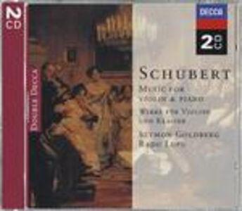 CD Sonate per violino e pianoforte - Sonata Arpeggione di Franz Schubert
