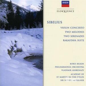 Concerto per Violino - Melodies - - CD Audio di Jean Sibelius