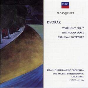 CD Sinfonia n.7 - Wood Dove di Antonin Dvorak