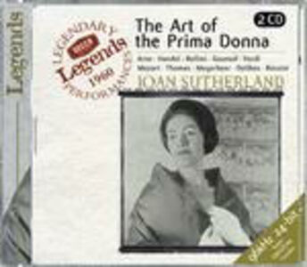 Foto Cover di The Art of the Prima Donna, CD di Joan Sutherland, prodotto da Decca