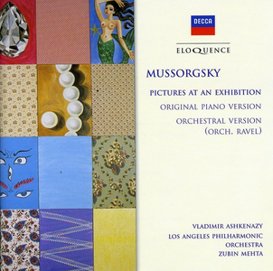 CD Pictures at An Exhibition di Modest Petrovich Mussorgsky