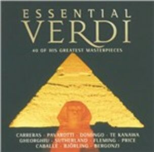 CD Essential Verdi di Giuseppe Verdi