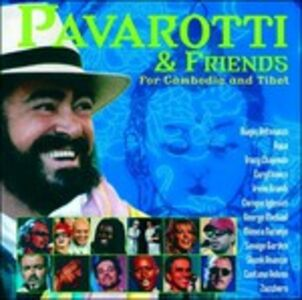 CD Pavarotti & Friends for Cambodia and Tibet