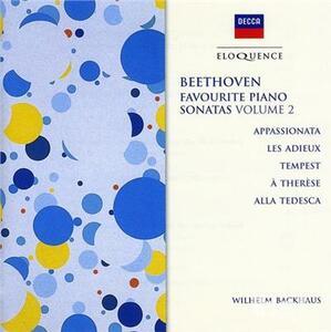 Sonate Appassionata - Temp - CD Audio di Ludwig van Beethoven