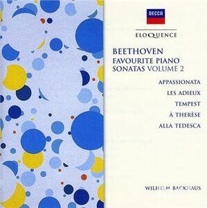 CD Sonate Appassionata - Temp di Ludwig van Beethoven