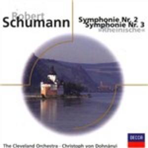 CD Sinfonie n.2, n.3 di Robert Schumann