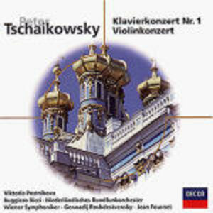 CD Concerto per pianoforte n.1 - Concerto per violino di Pyotr Il'yich Tchaikovsky