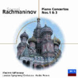 CD Concerti per pianoforte n.1, n.3 di Sergei Vasilevich Rachmaninov