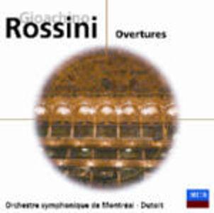 CD Ouvertures di Gioachino Rossini