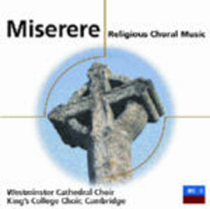 CD Miserere: Religious Choral Music