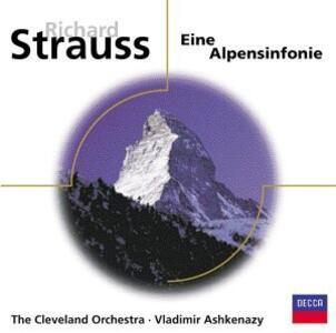 Eine Alpensinfonie op.64 - CD Audio di Johann Strauss,Cleveland Orchestra