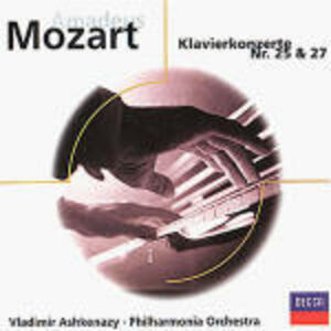 CD Concerti per pianoforte n.25, n.27 di Wolfgang Amadeus Mozart