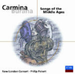 Carmina Burana - Songs of the Middle Ages - CD Audio