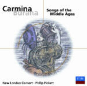 Foto Cover di Carmina Burana - Songs of the Middle Ages, CD di  prodotto da Decca