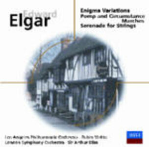 CD Variazioni Enigma - Pomp and Circumstance - Serenata per archi di Edward Elgar